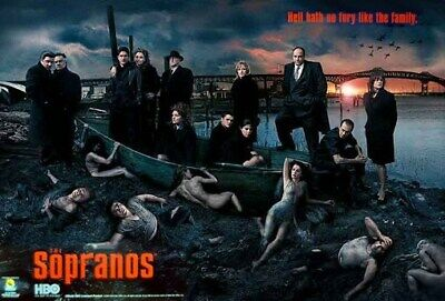 Sopranos Poster - Season 5 - Rare New Original