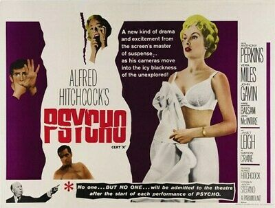 PSYCHO MOVIE POSTER Anthony Perkins-Alfred Hitchcock 10