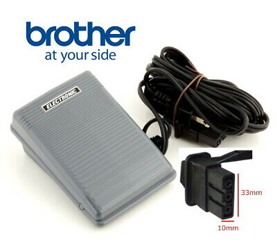 Brother Genuine  Sewing Machine Foot control/Pedal with Power Lead Type N  BR012