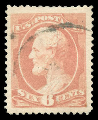 momen: US Stamps #208 Used PSE Graded XF-90J