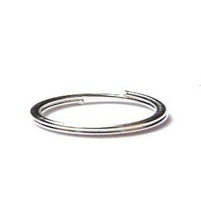 200 pcs 6mm Silver Plated Double / Split Jump Rings - A6341