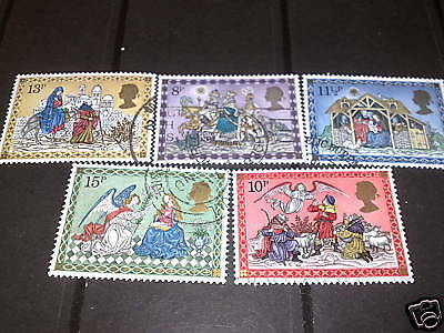 Qe11 1979 Fine Used Christmas Set Offer Over 37P
