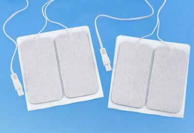 MamaTens Mama Tens Replacement Electrodes Pads - RECTANGULAR CONNECTOR