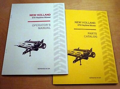New holland 469 mower haybine conditioner parts catalog book list new holland 479 haybine mower conditioner operators and parts manual catalog nh fandeluxe Choice Image