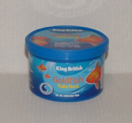 KING BRITISH GOLDFISH FLAKE FOOD 12g Aquarium Fish