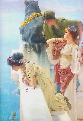A Coign of Vantage by Tadema Choose 100% Canvas Giclee Print or Fine Art Poster