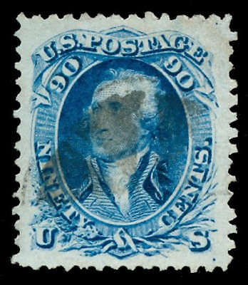 momen: US Stamps #72 Used PSE Graded XF-90J
