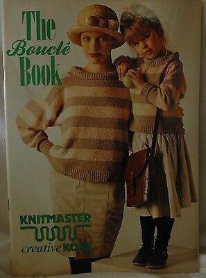 The Boucle Book by Knitmaster for All Standard Gauge Knitting Machines M647
