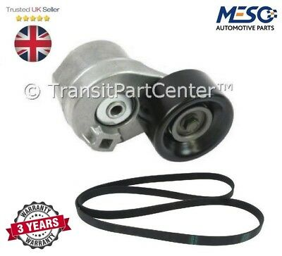 Tensioner And Fan Belt Ford Transit 2000-2006 Ldv Convoy 2002-2009 2.4 With A/c