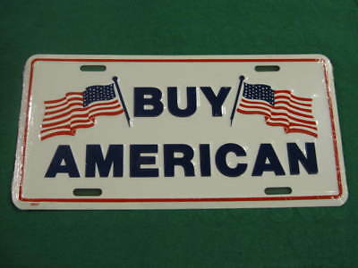Buy American Metal License Plate New Usa Flag Sign L150