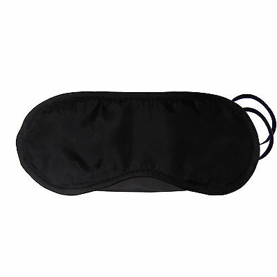 Eye Masks 5 x Black Eye Mask Travel Sleep Masks Eyemask Blindfold Love Island GENUINE UK Travel Accessories