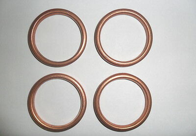 EXHAUST GASKETS for YAMAHA FAZER 600 set of 4
