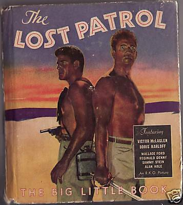 Vintage Big Little Book The Lost Patrol R.k.o. Picture