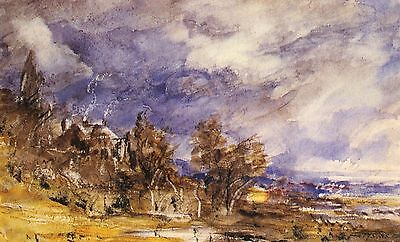 4 Giclee Prints of London Hampstead Heath 4 Landscapes Pictures by Constable NEW