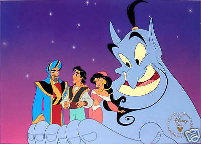 Disney Store Lithograph: ALADDIN & the KING of THIEVES