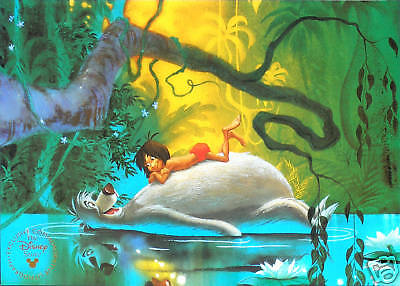 Disney Store Lithograph: The JUNGLE BOOK 1997 MINT