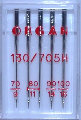 Organ Sewing Machine Needles -Universal  Size 70 - 100 Mixed-   - BLB72
