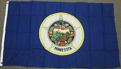 3X5 Minnesota State Flag Mn Flags States New Usa F252