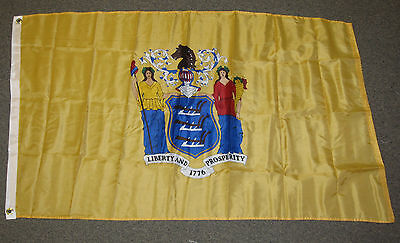 3X5 New Jersey State Flag! New Nj Flags Usa Us F261