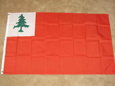 3X5 Flag Of New England Continental Bunker Hill F092