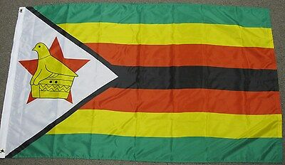 3X5 Zimbabwe Flag National Country Africa Banner F786