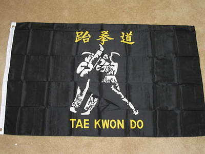 3X5 Tae Kwon Do Flag Martial Arts Karate New Sign F221