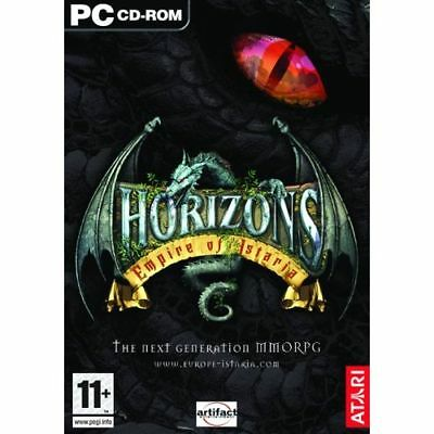 HORIZONS Empire of Istaria + 30 Day Subscription PC NEW