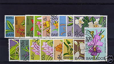 Barbados 1974 Complete Set Sg485-500 Fine Used.