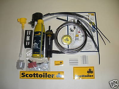 Universal V System Scottoiler Motorcycle Chain Lube Lubricating System