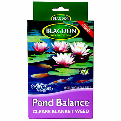 Blagdon Pond Balance Treats 1500 Gallons Blanketweed Safe Treatment Fish Koi