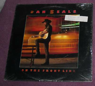 SEALED 1986 DAN SEALS On the Front Line LP COUNTRY