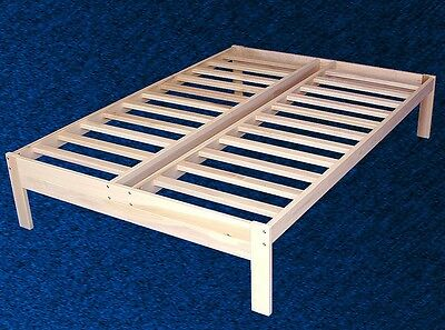 NEW SOLID WOOD PLATFORM BED FRAME - Full/Double Size