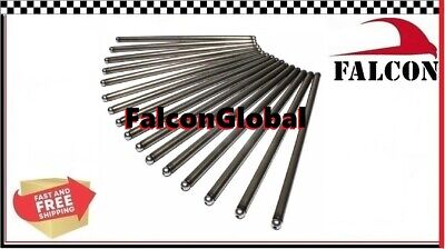 Ford 351W Push Rod Set Pushrods rods NEW (16) 1994-96** F150 roller cam apps