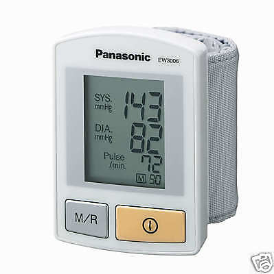 Panasonic EW3006 Wrist Blood Pressure Monitor