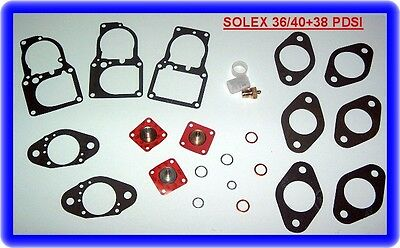 BMW (M10) 1602,1802,2002,Mercedes 230, W110,Solex 36/40+38 PDSI,Rep.Kit