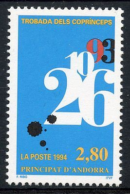 Timbre Andorre Neuf** N° 453