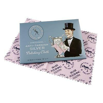 Silver Jewellery Cleaner Polishing Cloth Town Talk
