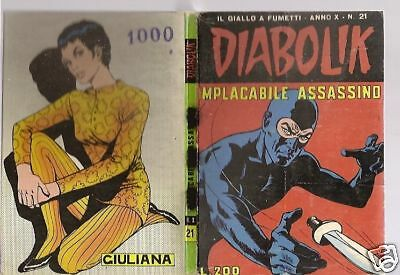 Diabolik Originale - Anno X - 10°-  1971 - # 21 - Implacabile Assassino