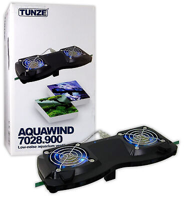 Tunze 7028 Aquawind Cooling Fans Reef Marine Fish Tank Aquarium Ventilation