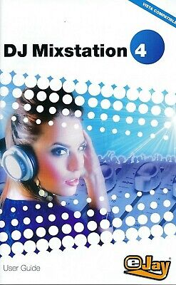 EJAY - DJ Mixstation 4 - Digital Music Mixing Desk PC (Disc & Manual)