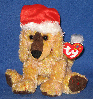 TY JINGLEPUP the DOG BEANIE BABY - MINT with MINT TAG - CANADA EXCLUSIVE VERSION