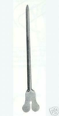 "12 Grooved Director with Tongue Tie & Probe 6"" 15.2cm"