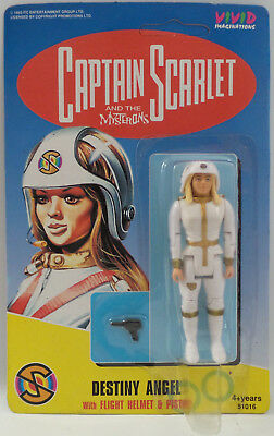 Captain Scarlet : Destiny Angel Carded Action Figure Made In 1993