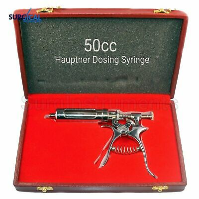 Hauptner Syringe 50cc For Accurate & Correct Dosing ALL STAINLESS STEEL