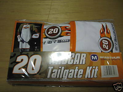 Tony Stewart Nascar Tailgate kit, NIP, FRFEE SHIPPING IN THE U.S.