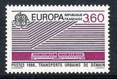 Stamp / Timbre France Neuf** N° 2532 Europa 1988 Transports Urbains De Demain