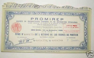 Action ancienne : PROMIREP ( 548  )