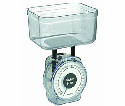 Small Traditional Mechanical Kitchen Scales 1kg   New