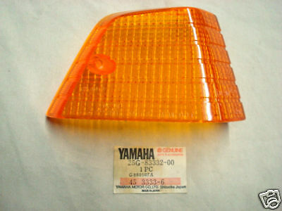 Flasher (LH) Lens for Yamaha XC125,180,200