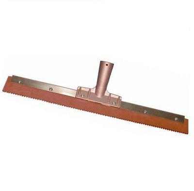 "18"" Magnolia Notched Serrated Squeegee for Epoxy"